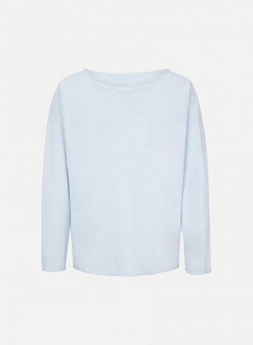 Sweatshirt | Juvia | Fleece Sweater denim 820 00 037 865 denim