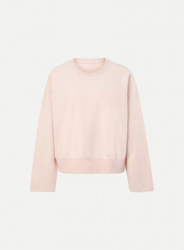 Sweatshirt | Juvia | Fleece Sweater Straight Sleeves 820 16 047 517
